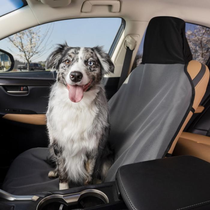 Petsafe Waterproof Bucket Front Seat Cover Grey