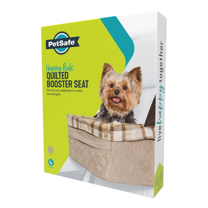 Petsafe Happy Ride Lrg Booset Seat Quilted