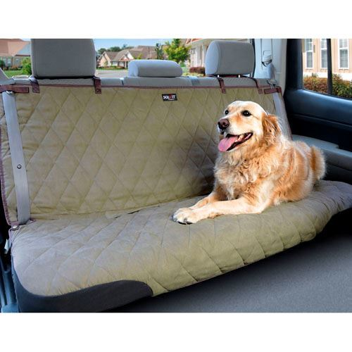 Solvit Deluxe Sta Put Bench Car Seat Cover