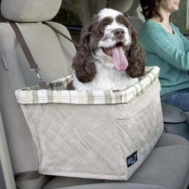 Solvit Extra Large Pet Booster Car Seat Deluxe