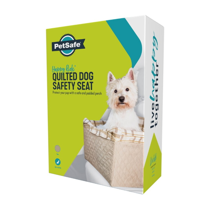 quilted_seat_booster_Petsafe Happy Ride