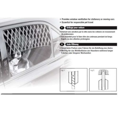 Mikki Dog Window Guard - Expandable Car Vent