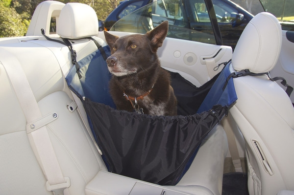 Medium image of travelling with a dog as well as with a baby or back seat passenger  the bindi half seat hammock cover may be perfect for you  the bindi half hammock car