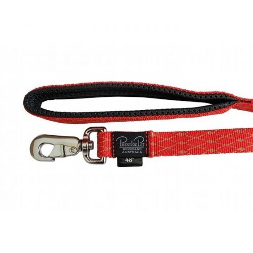 Stylish Honeycomb Soft Nylon Padded Leash - 122cm & 183cm