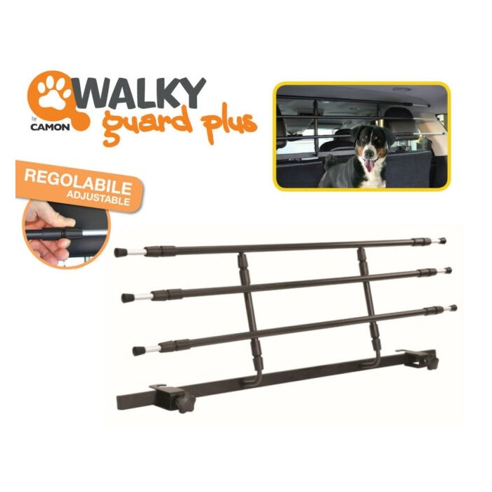 Walky Guard Adjustable Dog Car Barrier