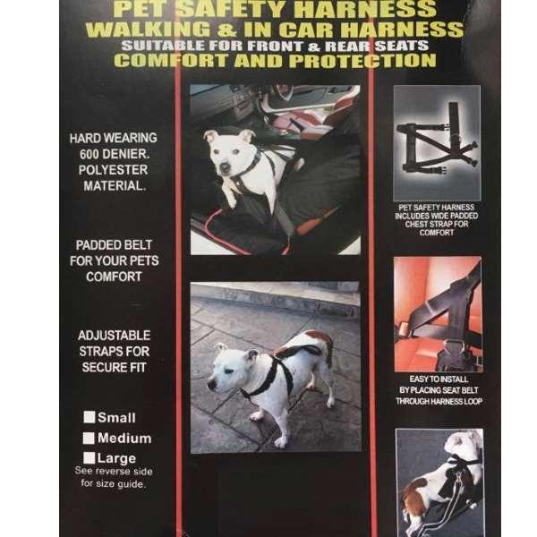 Dog Safety Harness (Car & Walking)