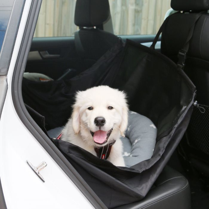 Half Hammock Dog Car Seat Protector Butters