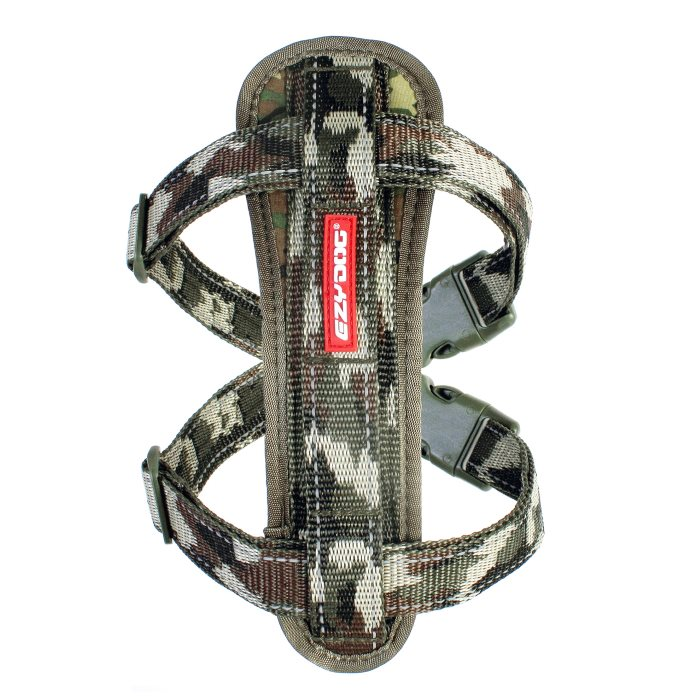 EzyDog Chestplate Harness Camo