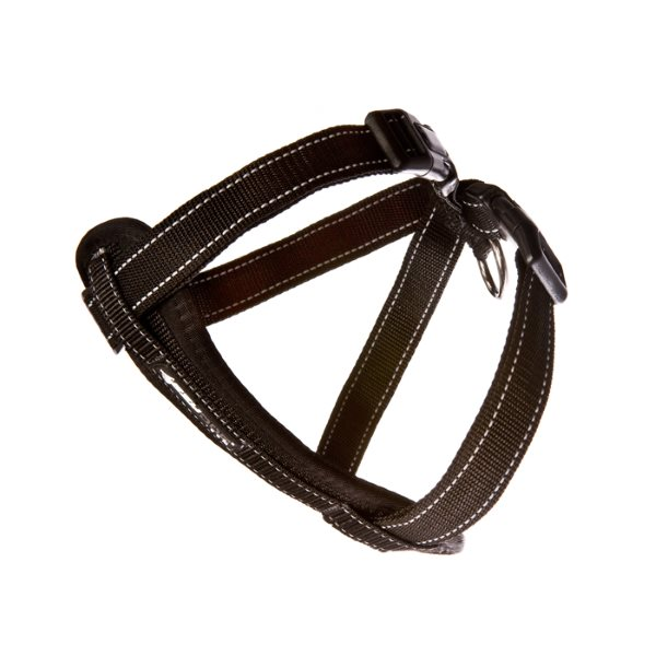 EzyDog Chestplate_Harness_Black