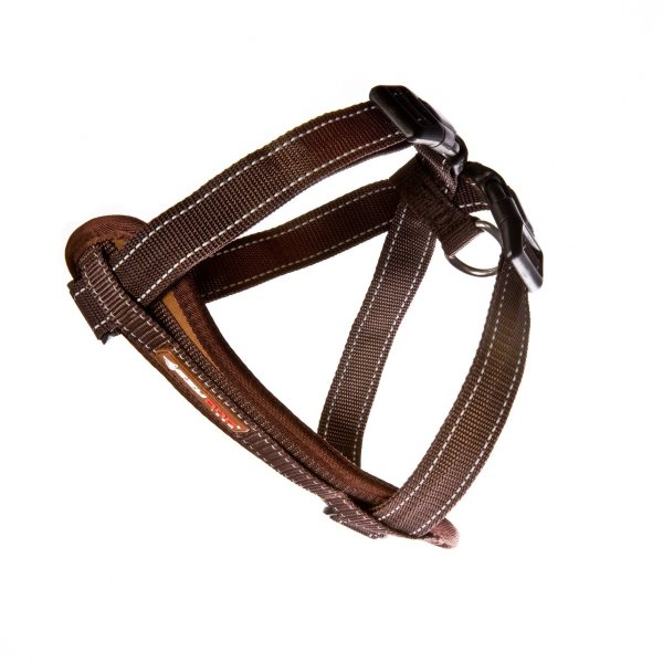 EzyDog Chestplate_Harness_Chocolate