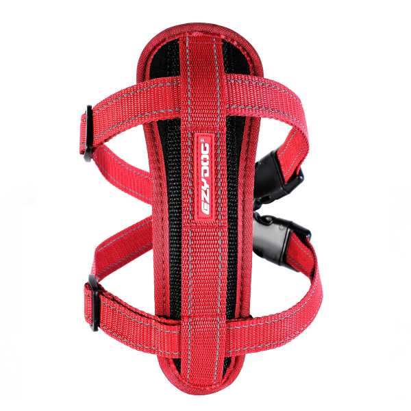 EzyDog_Chest Plate_Front_red