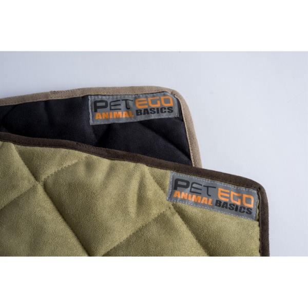 AB Velvet Dog Car Seat Hammock Cover