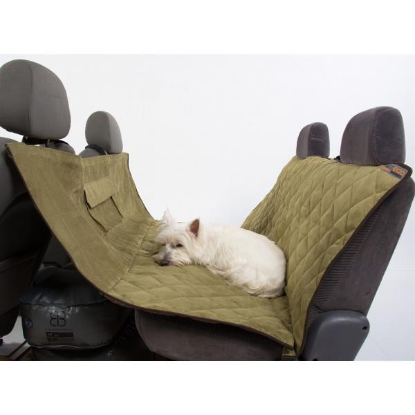 AB Velvet Dog Car Seat Hammock Cover SGE ES