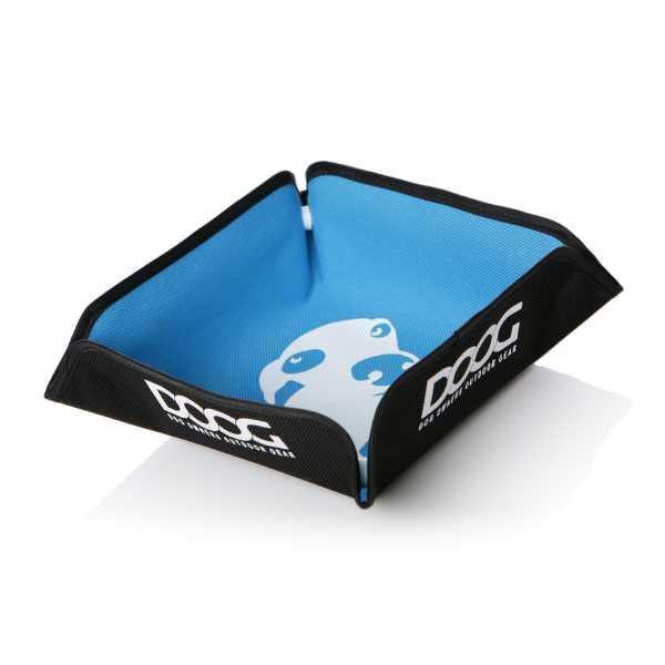 DOOG Blue collapsible dog bowl