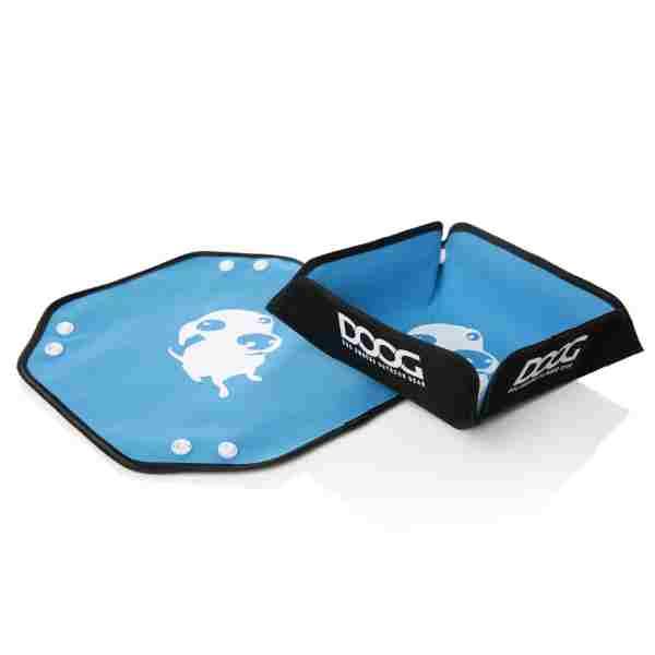 DOOG Blue portable dog bowl