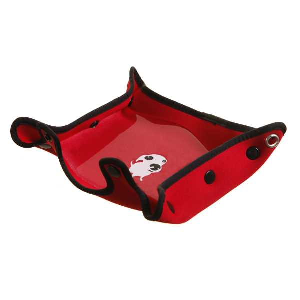 DOOG 3 in 1 Dog Water Bottle and Bowl Red