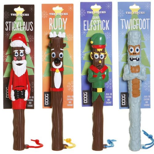 The Seasonal Sticks DOOG Dog Toy Range