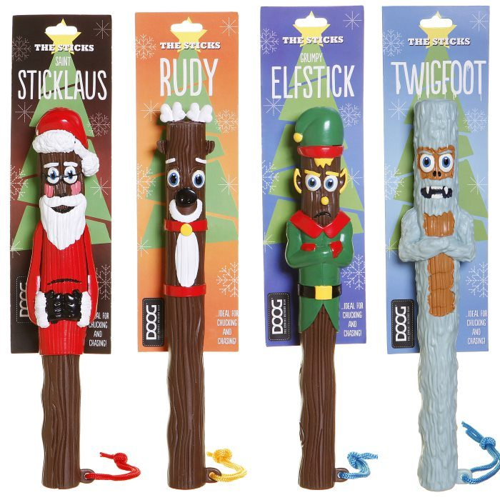 The Seasonal Sticks DOOG Dog Toy Range