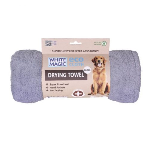 White Magic Dog Drying Towel Large