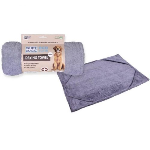 White Magic Dog Drying Towel