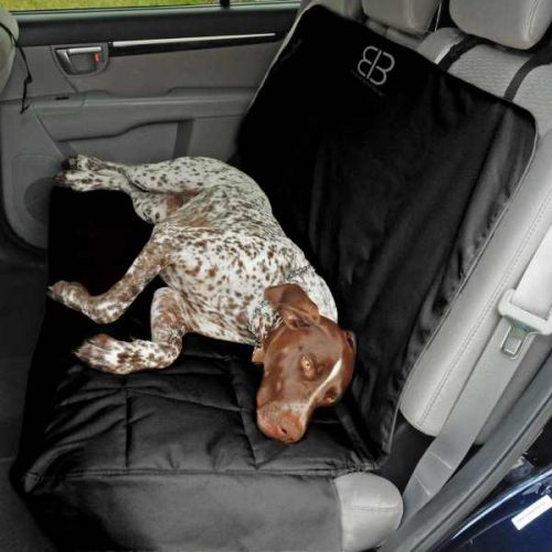 EB Dog Car Seat Cover Bench Black