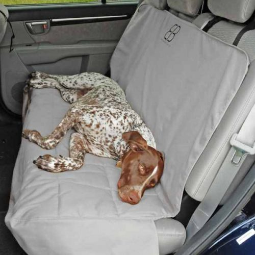 EB Dog Car Seat Cover Bench Grey
