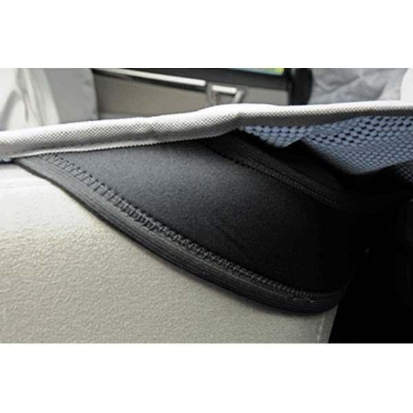 Eb Velvet Multi Fabric Hammock Car Seat Protector Dog