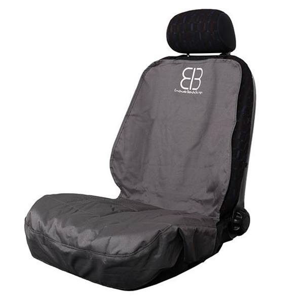 EB Front Car Seat Cover for Dogs Anthracite Side