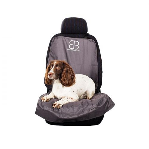 EB Front Car Seat Cover Anthracite for dogs