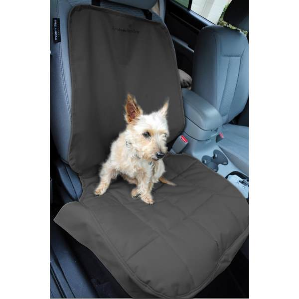EB Front Car Seat Cover for Dogs Anthracite