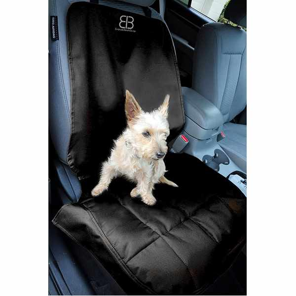 EB Front Car Seat Cover for Dogs Black