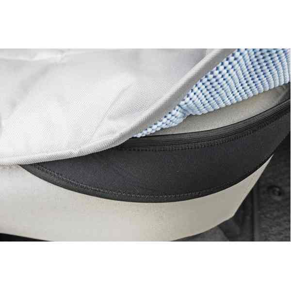 EB Front Car Seat Cover for Dogs Neoprene Belt