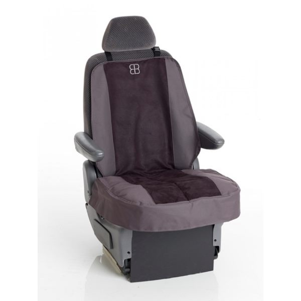 EB Velvet Front Seat Cover Anthracite/Black