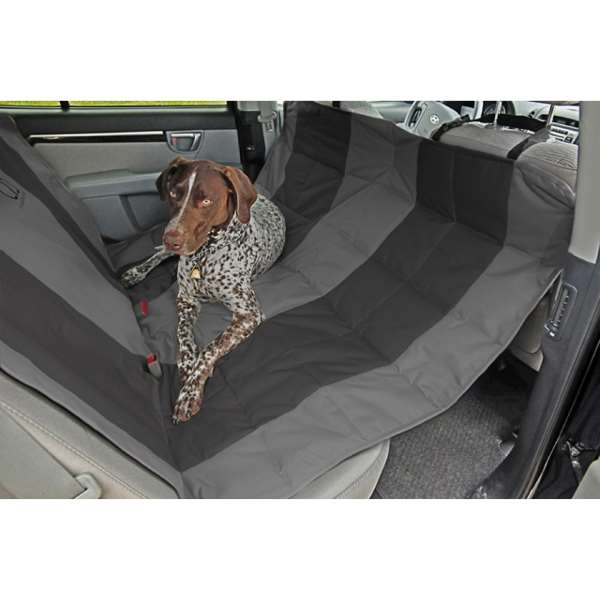EB Velvet Hammock Car Seat Cover Anthracite/Black
