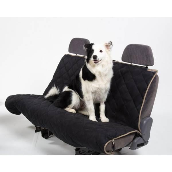 Petego AB Velvet Bench Seat Cover Black/Stone