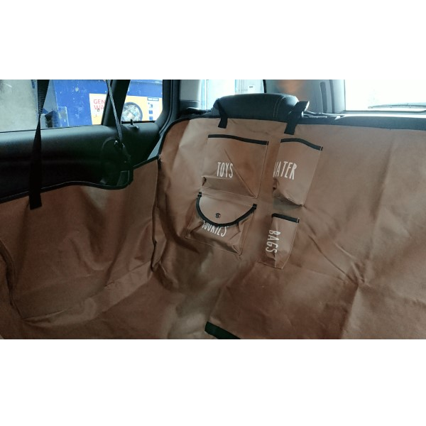 Chico Universal Pet Car Seat Hammock Storage Pockets
