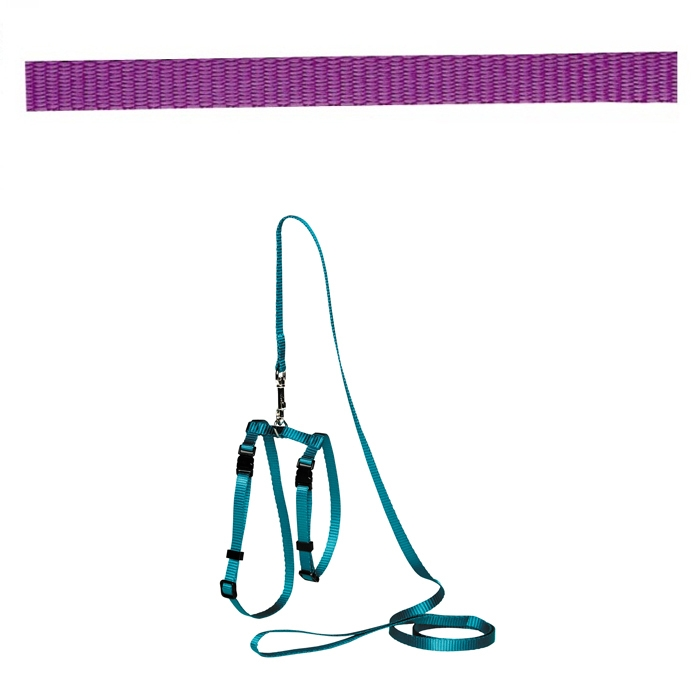 Adjustable Cat Puppy Leash Purple