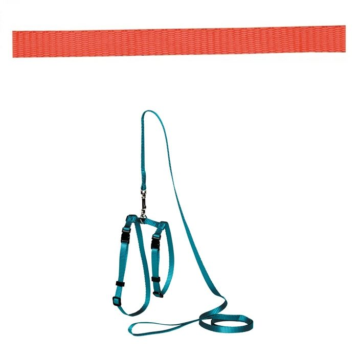 Adjustable Cat Puppy Leash Red
