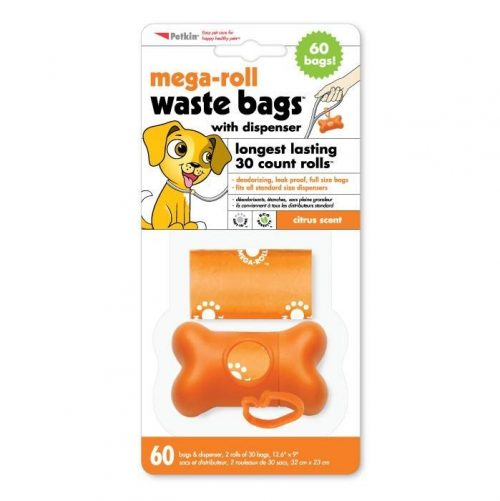 Petkin Waste bags with dispenser