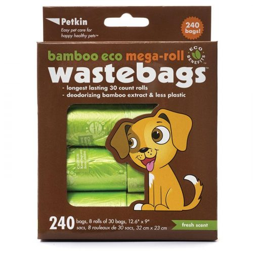 Petkin Wastebags Mega Roll refills 240 bags