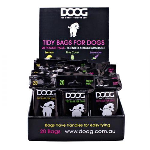 DOOG Scented Dog Poo Bags