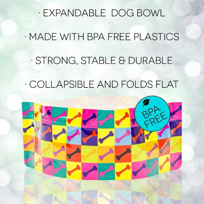 Modgy Dog Bowl Features