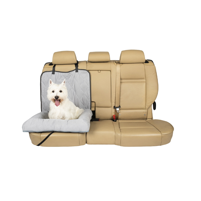 Petsafe Happy Ride Car Dog Bed Grey