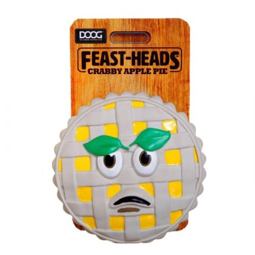 DOOG Feastheads Crabby Apple Dog Toys