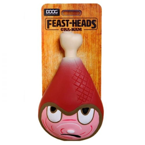 DOOG Feastheads Gra'ham Dog Toys