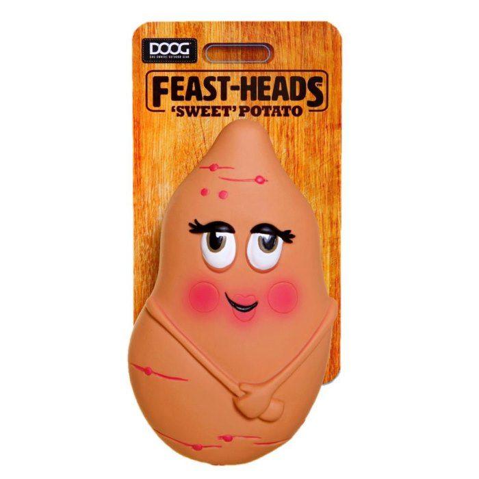 DOOG Feastheads Potato Dog Toys