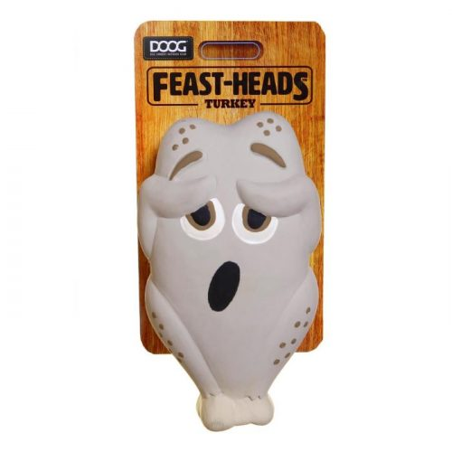 DOOG Feastheads Turkey Dog Toys