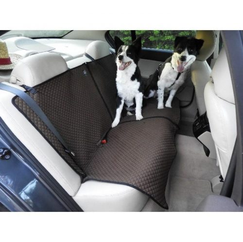 Zeez Deluxe Padded Dog Car Bench Seat Cover