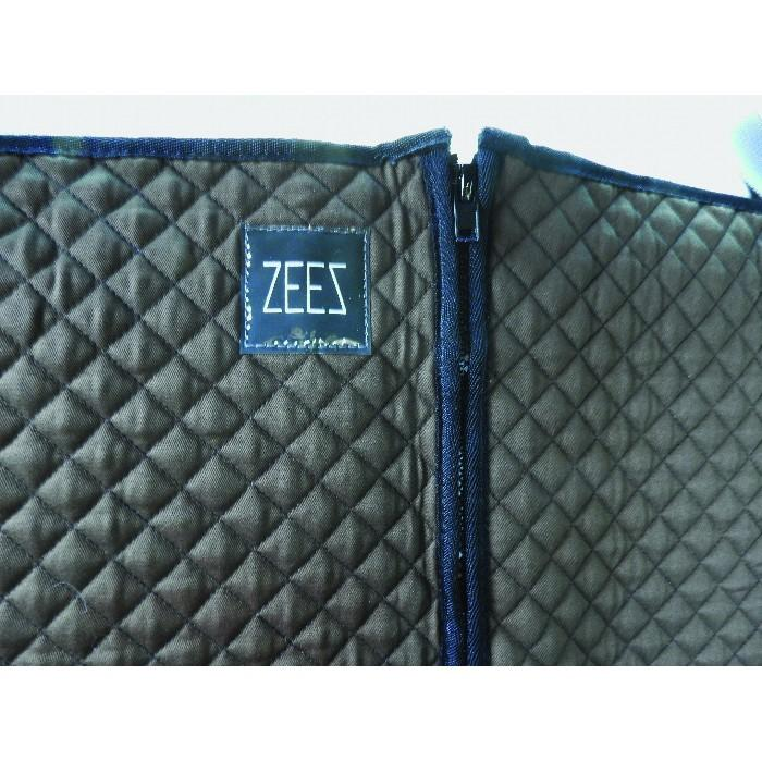 Zeez Deluxe Padded Dog Car Seat Hammock Cover Central Zip