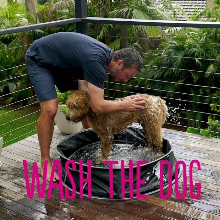 DOOG PopUp Portable Dog Pool for Washing